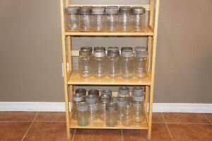 Antique Glass Crown Preserve Jars w Bands & Lids Kitchener / Waterloo Kitchener Area image 1