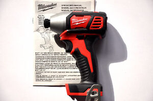 "BRAND NEW! Milwaukee M18 1/4"" Hex Impact Driver TOOL ONLY!"