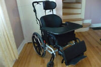 Maple leaf tilt wheelchair:
