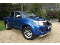 2013 Toyota Hi-Lux 3.0D-4D auto Invincible PICK UP 4X4 DOUBLE CAB 38K LOW MILES