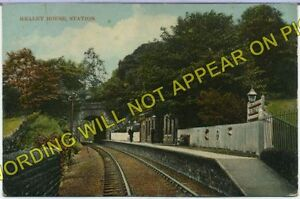 Healey House Railway Station Photo. Meltham - Netherton. Huddersfield Line. L&YR