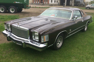 Reduced! 1978 Chrysler Cordoba