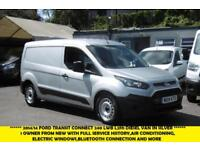 2014 FORD TRANSIT CONNECT 240 LWB L2H1 IN SILVER WITH AIR CONDITIONING,BLUETOOTH