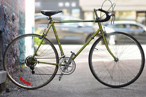 D-114 Lime Green Road Bike with 14 Speeds