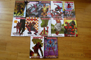Marvel - Deadpool Comic collections