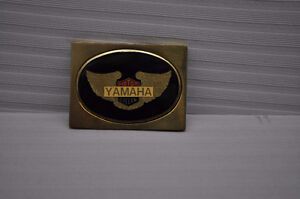 Spring is soon here - Yamaha Belt Buckle - Solid Brass