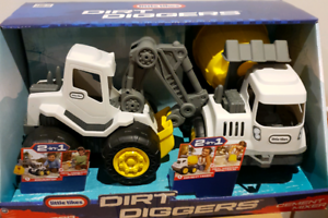 Brand new Little Tikes Dirt Diggers Excavator & Cement Mixer Box Hill Whitehorse Area Preview