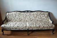 Antique Sofa and Chair(Queen Anne style)
