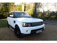 2012 62 Land Rover Range Rover Sport 3.0 SDV6 HSE FACELIFT FLRSH 68K BLACK PACK