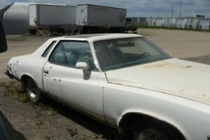 Parting out complete 1975 Buick Century Indy Pace car