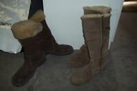 2 Pairs of Winter Boots Womens 10