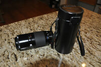 Minolta AF 70-210mm Lens and case