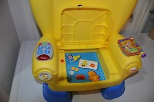Smart Stages Yellow Activity Chair Strathcona County Edmonton Area image 2