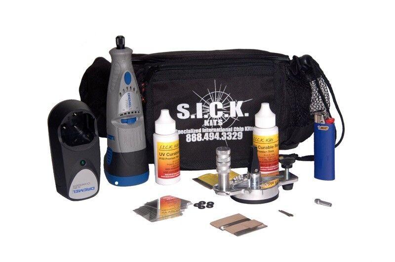 S.I.CKits Advanced Windshield Repair Kit for Beginners