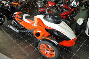 Brand New Can-Am Spyder RSS - Never Used 4 year Warranty