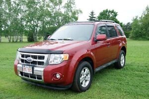 2009 Ford AWD Escape Limited SUV, Crossover LEATHER UP LIKE NEW