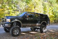 Lifted 2000 Ford Excursion Limited 7.3L Powerstroke, Etested