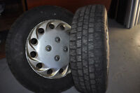 Toyota corolla a pair of  winter tire