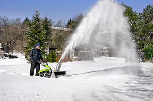 Grillo two wheel tractor and snowblower