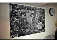Huge new york ikea canvas for sale