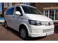 Volkswagen Transporter 4 berth 4 seat belt Motorhome for sale