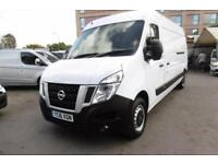 2016 NISSAN NV400 2.2 DCI 125 SE LWB HIGH ROOF WITH AIR CONDITIONG , ONLY 7000 M
