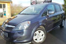 2011 VAUXHALL ZAFIRA 1.8 EXCLUSIV 5DR - 6 VAUXHALL SERVICES - 2 OWNERS - 2 KEYS
