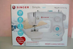 New Singer Simple 3337