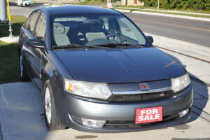 2004 Saturn ION 3 ONLY 96 367KMS!
