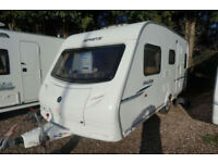 LOVELY 2009 SPRITE MAJOR 5 - 5 BERTH LIGHTWEIGHT CARAVAN - DOUBLE DINETTE