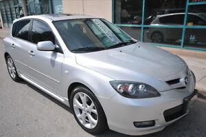 2008 Mazda Mazda3 GT Sedan/CERTIFIED & E-TESTED/WE FINANCE