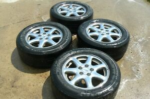 (4) CADILLAC STS RIMS WITH MICHELIN TIRES