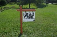 Need a FOR SALE BY OWNER SIGN & POST?