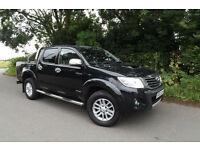 2013 62 Toyota Hi-Lux 3.0D-4D INVINCIBLE AUTO DOUBLE CAB PICK UP 4X4 45K FTSH