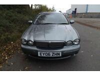 2006 06 Jaguar X-TYPE 2.2D Sport TOURER ESTATE PRACTICAL CAR DIESEL 6 SPEED 155