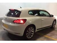 VOLKSWAGEN SCIROCCO 2.0 TDI 140/170 Coupe 1.4 2.0 TSI RLINE GT FROM £49 PER WEEK