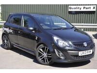 2013 Vauxhall Corsa 1.4 i 16v Black Edition 5dr (a/c)