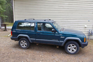 1998 Jeep Cherokee Sport Coupe (2 door)