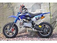 BRAND NEW PIT Bike 2016 Mini ATV Motor Bike Scrambler 49cc 50 cc PERFECT XMAS PRESENT 50cc