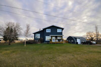 Acreage! - 5 Acres with Contemporary 4 Bedroom Home