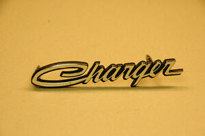"NOS! 1970 DODGE ""CHARGER"" FRONT GRILLE NAMEPLATE"