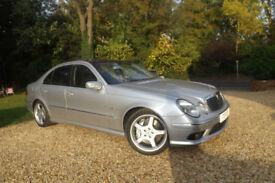 2004 54 Mercedes-Benz E55 AMG AUTO V8 KOMPRESSOR 476 BHP FSH AWESOME SUPER CAR