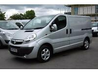 2013 VAUXHALL VIVARO 2700 CDTI SPORTIVE IN SILVER DIESEL VAN WITH AIR CONDITIONI