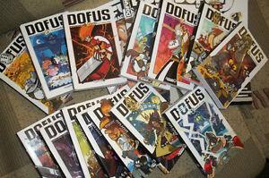 Livres '' Dofus '' à vendre  Volumes :  2 à 5 8 à 14 16 à 17  J'