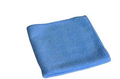 20 x Universal Poliertuch Microfasertuch Tücher Putztuch blau , 40x40