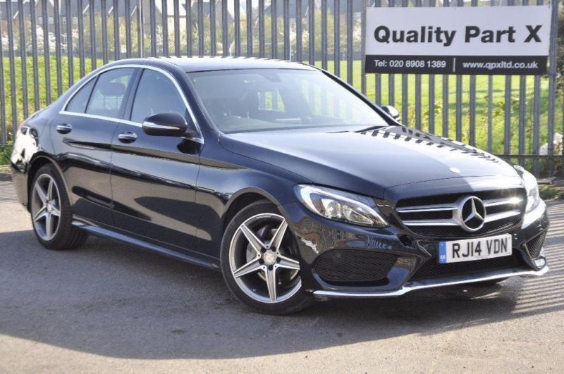 2014 mercedes benz c class 2 1 c220 cdi bluetec amg line premium in harrow london gumtree. Black Bedroom Furniture Sets. Home Design Ideas
