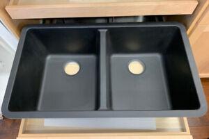 Bristol B315 Virtuo Granite Kitchen Sink - Black