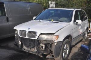B BMW e53 X5 4.4i M62 V8 Auto 1998-2006 No Engine