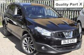 2012 Nissan Qashqai+2 1.6 dCi Tekna 4WD 5dr (start/stop)