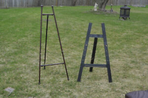 Decorator Easels -  2 easels to display your art